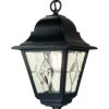 Elstead Norfolk NR9 Black Hanging Chain Lantern